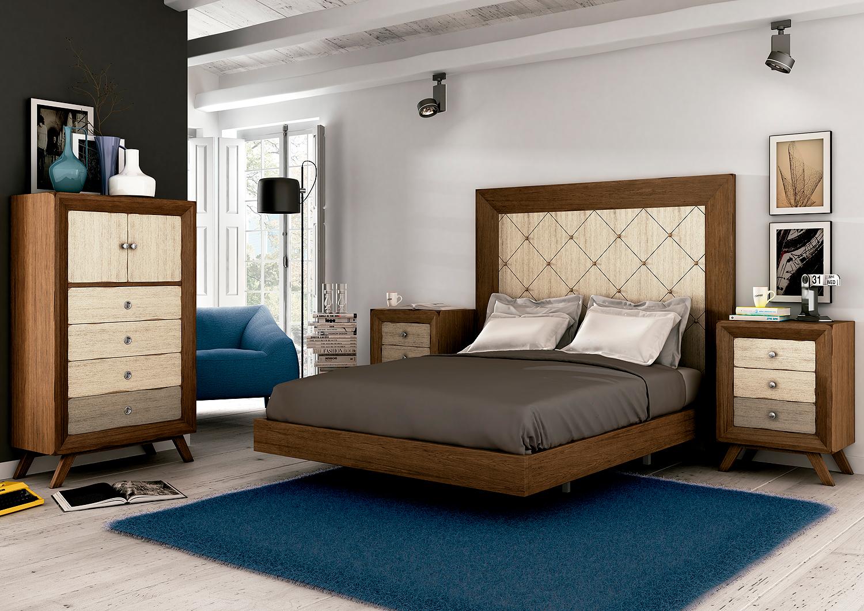 Muebles de dormitorio amueblar el dormitorio con coloridos cabeceros - Cabeceros de dormitorios ...
