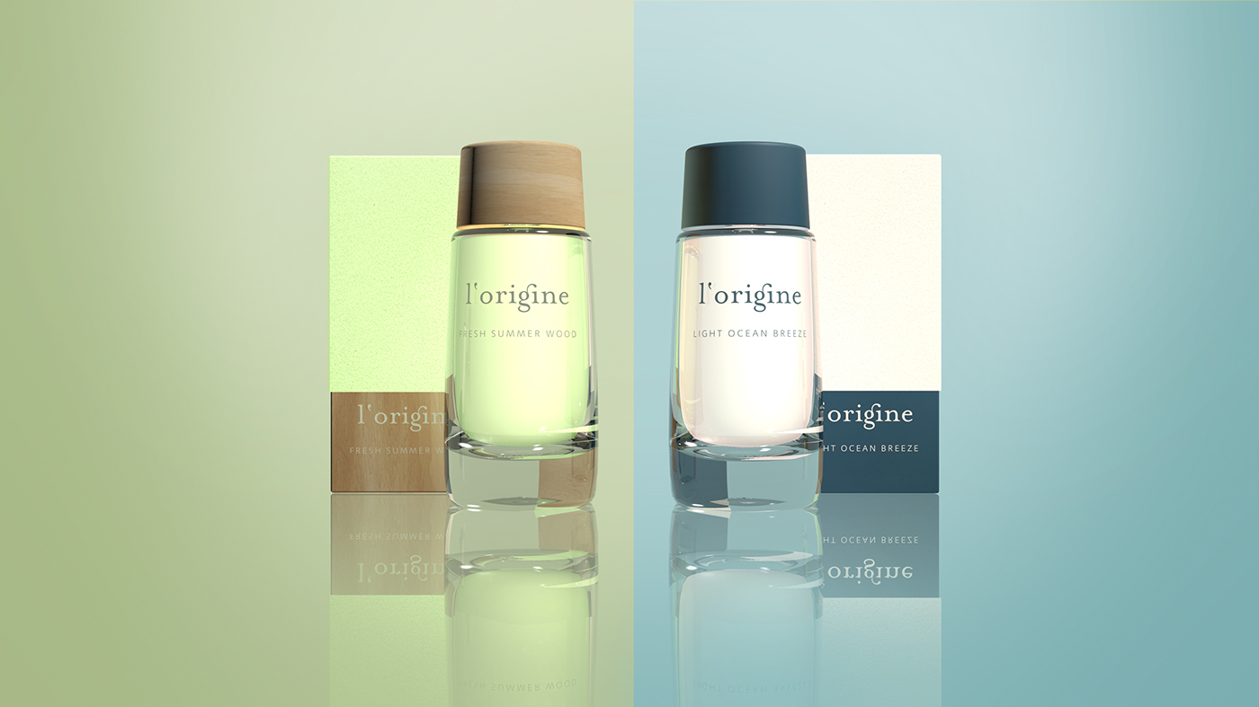 L'Origine Unisex Perfume (Student Project) on Packaging of ...