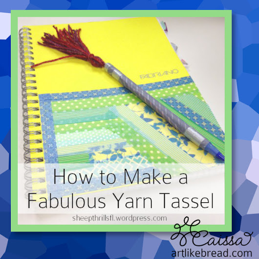 How to Make a #DIY #Yarn #Tassel