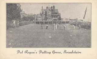 Postcard of Pat Regan's Putting Green in Broadstairs
