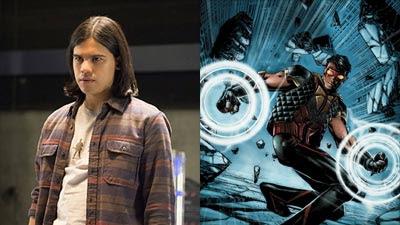 The Flash (2014), Cisco Ramon interpretado por Carlos Valdes y The Vibe en los comics