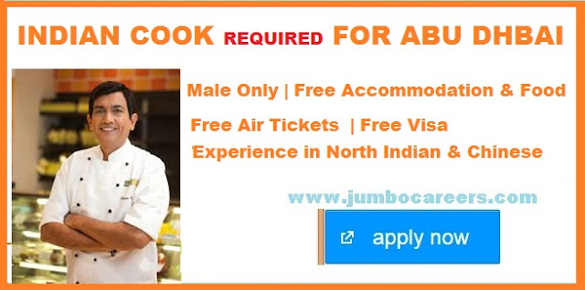 Indian cook salary in Abu Dhabi