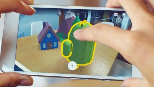 سامسونك تعقد شراكة مع جوجل من أجل جلب الواقع المعزز لهواتفها