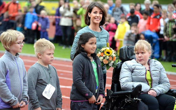 Princess Marie Attends The Special Schools Sports Day 2015