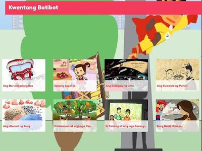 Kwentong Batibot - iOS app in App store