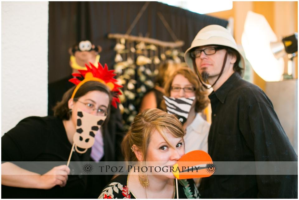 Pixilated Photobooth Wedding Reception