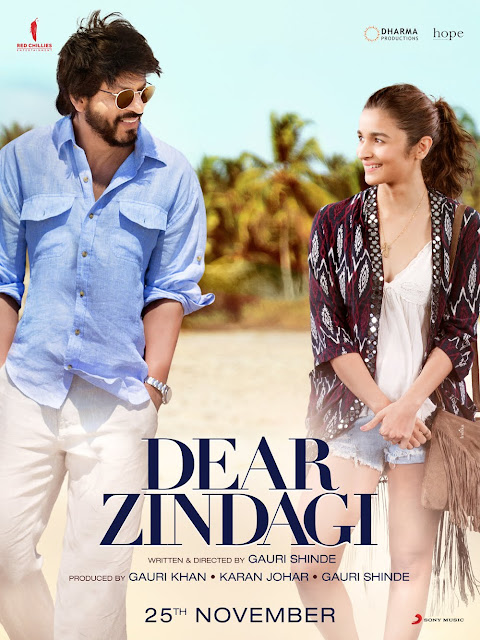 Shah Rukh Khan's Dear Zindagi New Poster Out Now