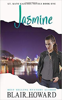 Jasmine (A Lt. Kate Gazzara Novel Book 1) kindle book promotion Blair Howard
