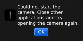 Cara Memperbaiki Camera Blackberry Error