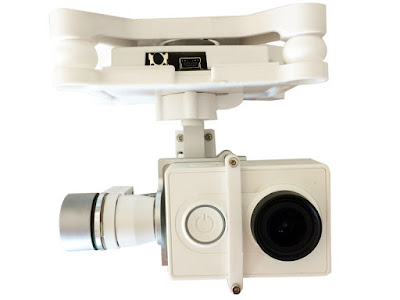 FreeX FX4-048 3-Axis Brushless Gimbal for Xiaomi yi Camera