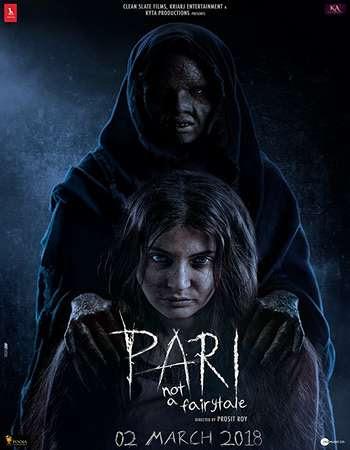 Poster Of Bollywood Movie Pari 2018 300MB Pdvd Full Hindi Movie