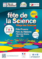 Programme de la fête de la science 2017 - Pôle Phoenix, parc du radôme à Pleumeur-Bodou