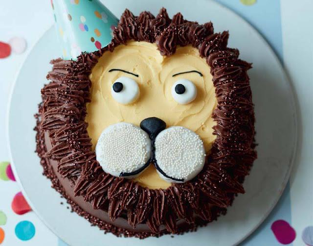 Lion Cake Recipe