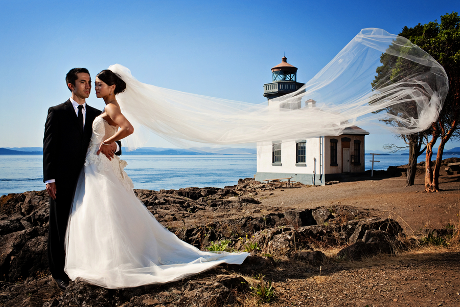 Matt Says The Destination Wedding Differed From A Traditional Hometown In That Their San Juan Islands Created Memorable