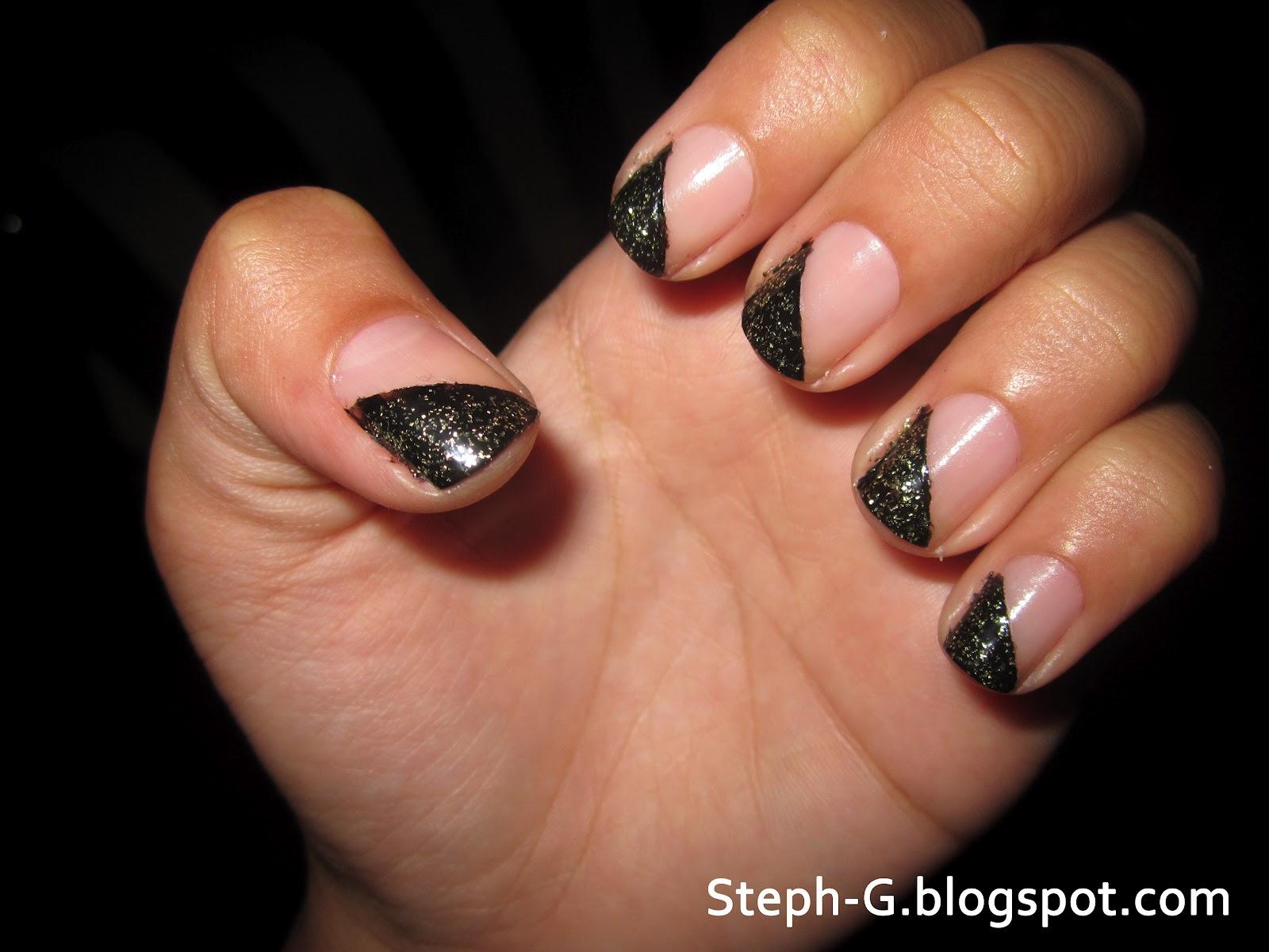 Diagonal Black Tips