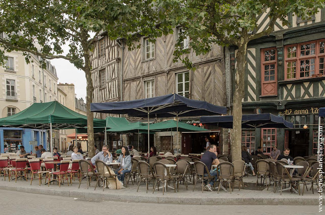 Rennes viaje Bretaña Normandia que ver imprescindibles capital
