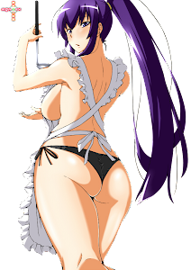 Highschool Of The Dead - Busujima Saeko Render 1