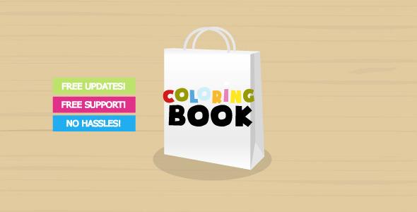 Coloring Book Creator (Activeden – 2659676)