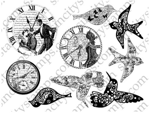 http://sincitystamps.com/birds-clocks-rubber-stamp-set/