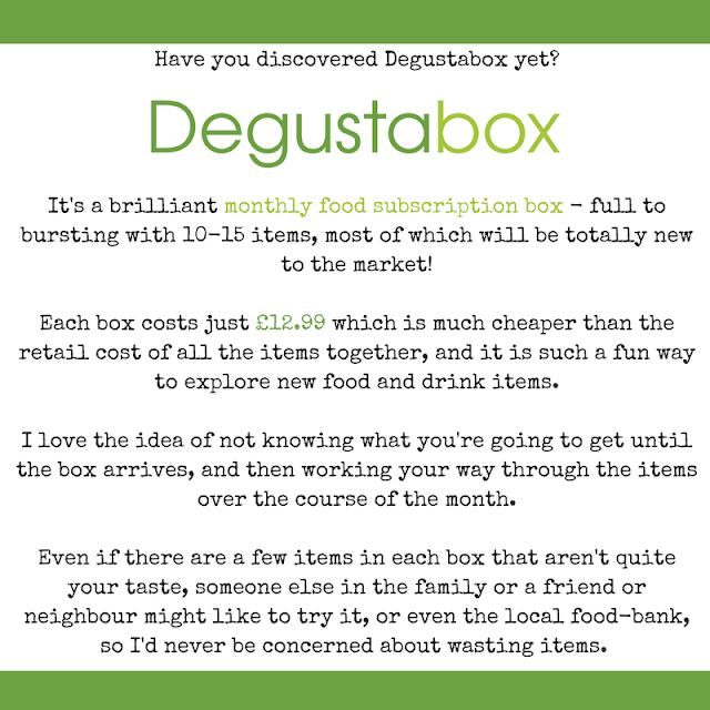 Have you heard of Degustabox?