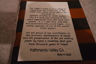 Kathmandu Valley Co. journals