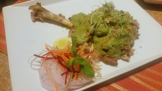 Bohri Green Mutton Raan