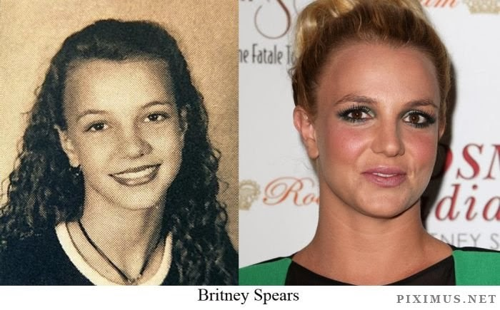 Britney Spears than and now - The world of celebrities