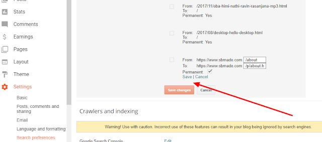 Custom Redirect on Blogger Blog