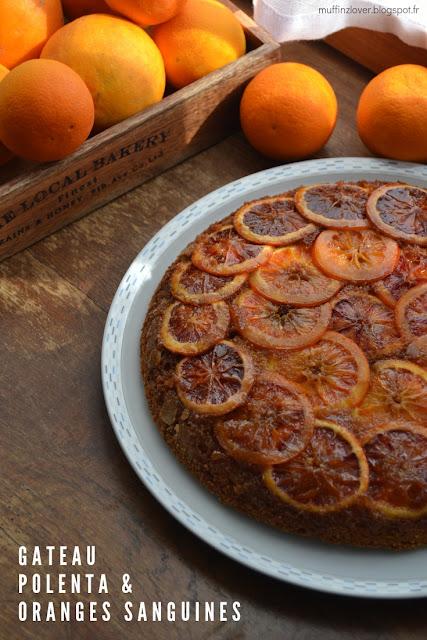 Recette facile gateau oranges sanguines et polenta - muffinzlover.blogspot.fr