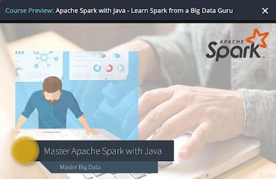 Best Apache Spark course in Java