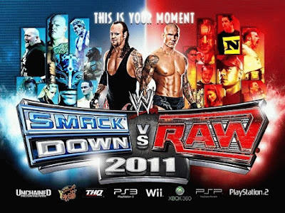 Free Download WWE SmackDown vs RAW 2011 Game