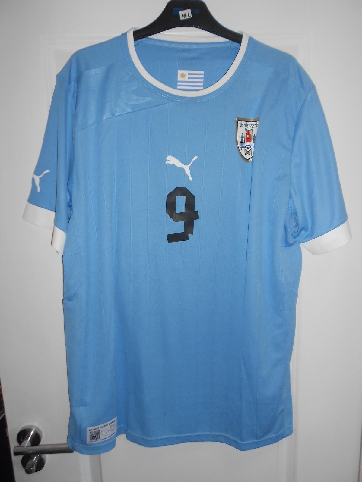 1f3caa668cf My collection of football shirts: Uruguay Home 2011
