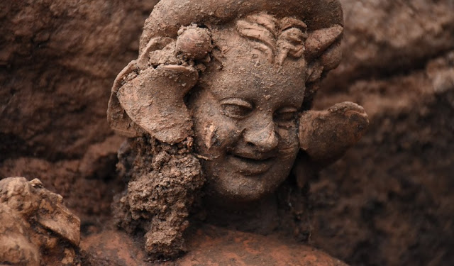 2,100-year-old statues discovered in northeastern Turkey