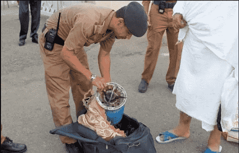 SAUDI BANS GAS CYLINDERS AND STOVES IN HAJJ