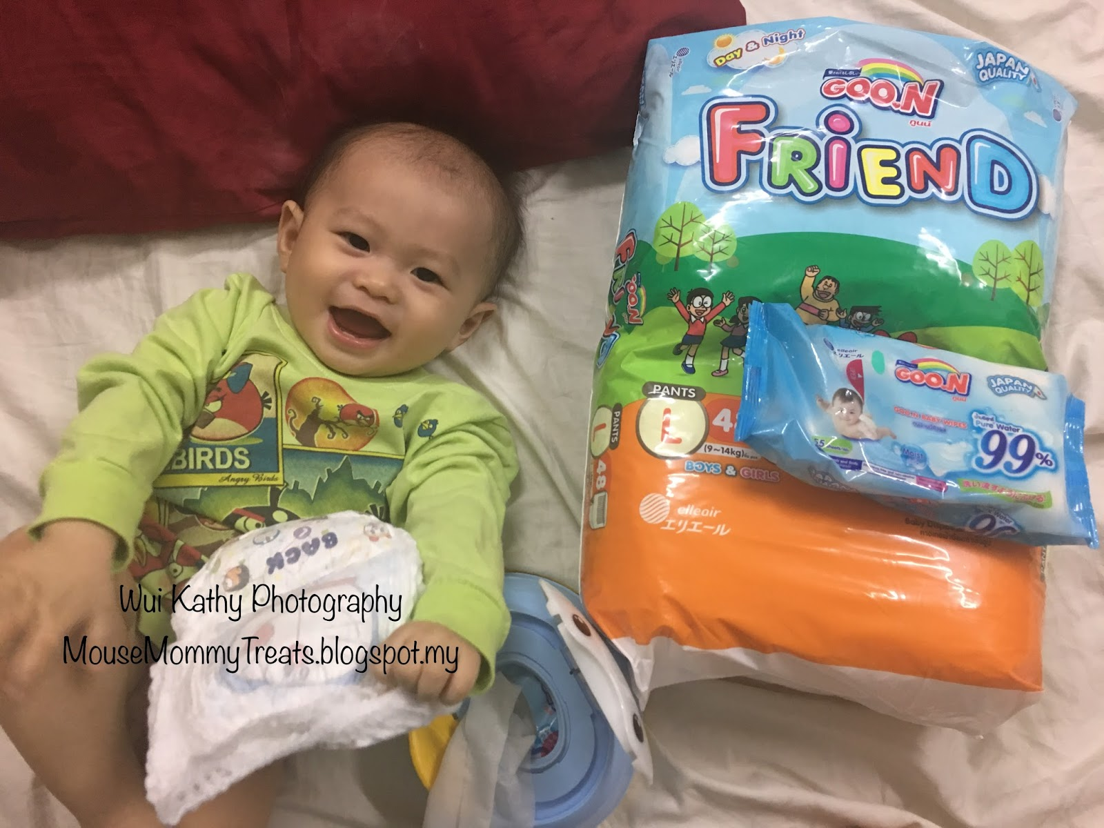 Goon Friend I Babys Bum Buddy Mouse Mommy Treats Smile Baby Pants L30 Healthy Skin Happy