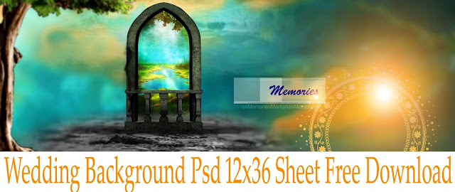 Wedding Background Psd