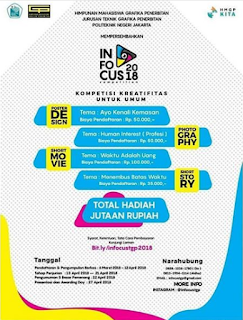 INFOCUS Competition 2018 Politeknik Negeri Jakarta