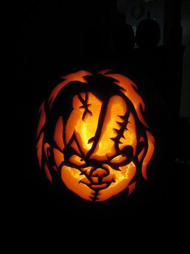 Scary halloween pumpkins funnymadworld
