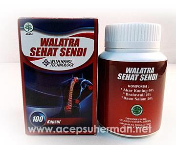 Produk Kesehatan Walatra Sehat Sendi 100% Original