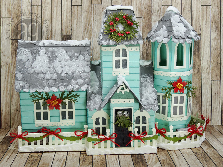 Annette's Creative Journey: Victorian Christmas House