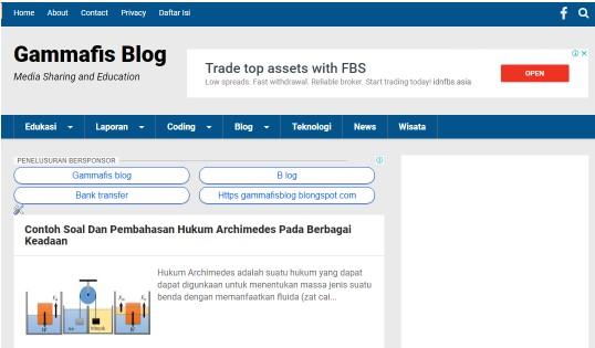 Cara Membuat Blog Gratis di blogger.com Dilengkapi Dengan Gambar dan Panduan Blog
