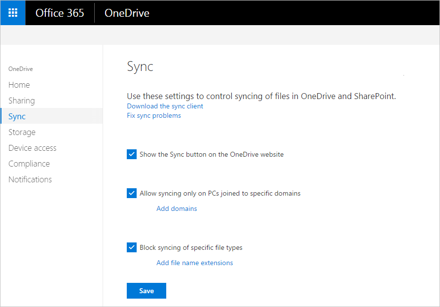 TrustSharePoint: Security Controls in the OneDrive for