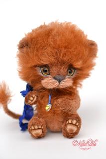 Авторский львенок тедди, тедди лев, авторская игрушка, тедди, тедди с шармом, коричневый лев, NatalKa Creations, teddies with charm, artist teddy lion, teddies, teddy lion ooak, mohair teddy, lion brown, lion handmade, stuffed toy, Künstlerteddy, Künstler Löwe, Teddy Löwe, Teddys, Unikat