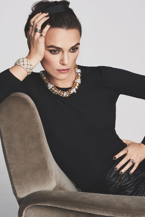 Keira Knightley makes a comeback with Chanel's Jewellery Campaign 2016