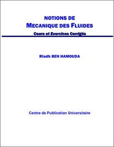 la mécanique des fluides cour avec des exercices corrigés