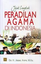 BUKU JEJAK LANGKAH PERADILAN AGAMA DI INDONESIA