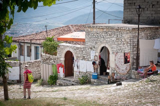 Berat Castle; Berat, Albania