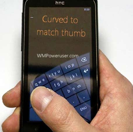 New kind of Arc Soft touch keypad may be seen in WP
