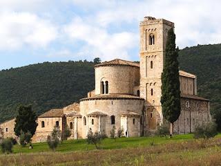 Sant'Antimo abdij in Montalcino