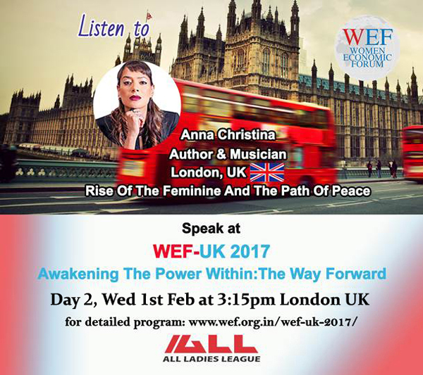 Anna-Christina Speaker at the Women Economic Forum 2017 page image